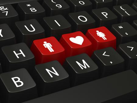 Online dating takes away the fear of rejection